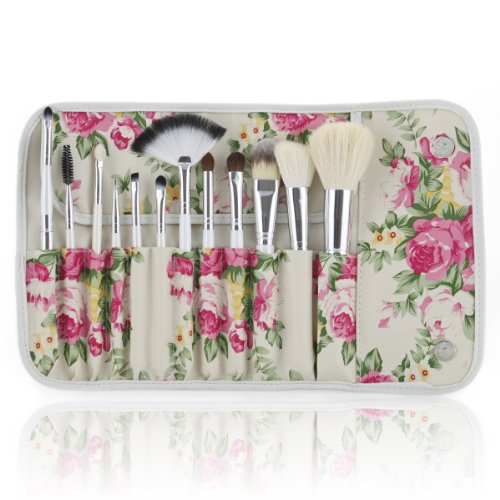 Frola Cosmetics Makeup Brushes Pattern