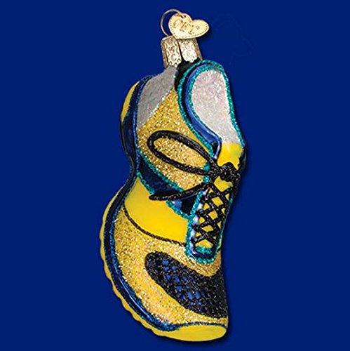 Old World Christmas Running Shoe Glass Blown Ornament (Ornament Runner Christmas)