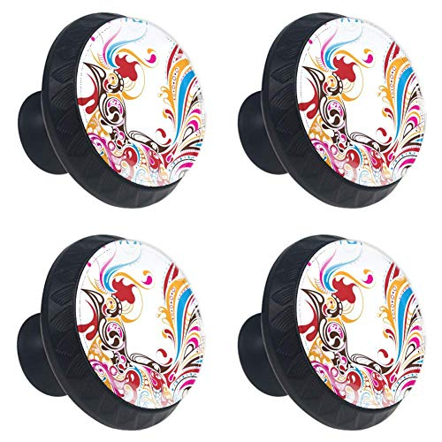 (Idealiy Unique Rooster Door Drawer Pull Handle Furniture Decoration for Kitchen Cabinet Dressing Table)