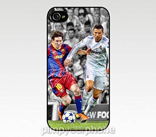 Messi Ronaldo Madrid Barcelona iPhone product image