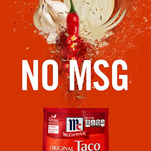 McCormick Chicken Taco Seasoning Mix, 1 oz, Create the Perfect Chicken Taco Fiesta, No MSG or Artificial Flavors, Works Great with Beef, Turkey, Beans and Veggies Too! by McCormick (Image #6)