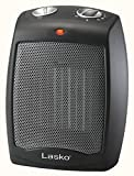 Lasko CD09250 Ceramic Portable Space Heater with Adjustable Thermostat - Perfect For the Home or Home Office (Renewed)
