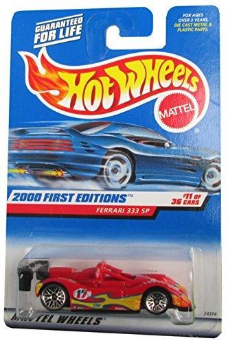 2000 First Editions -#11 Ferrari 333 SP #2000-71 Collectible Collector Car Mattel Hot Wheels ()