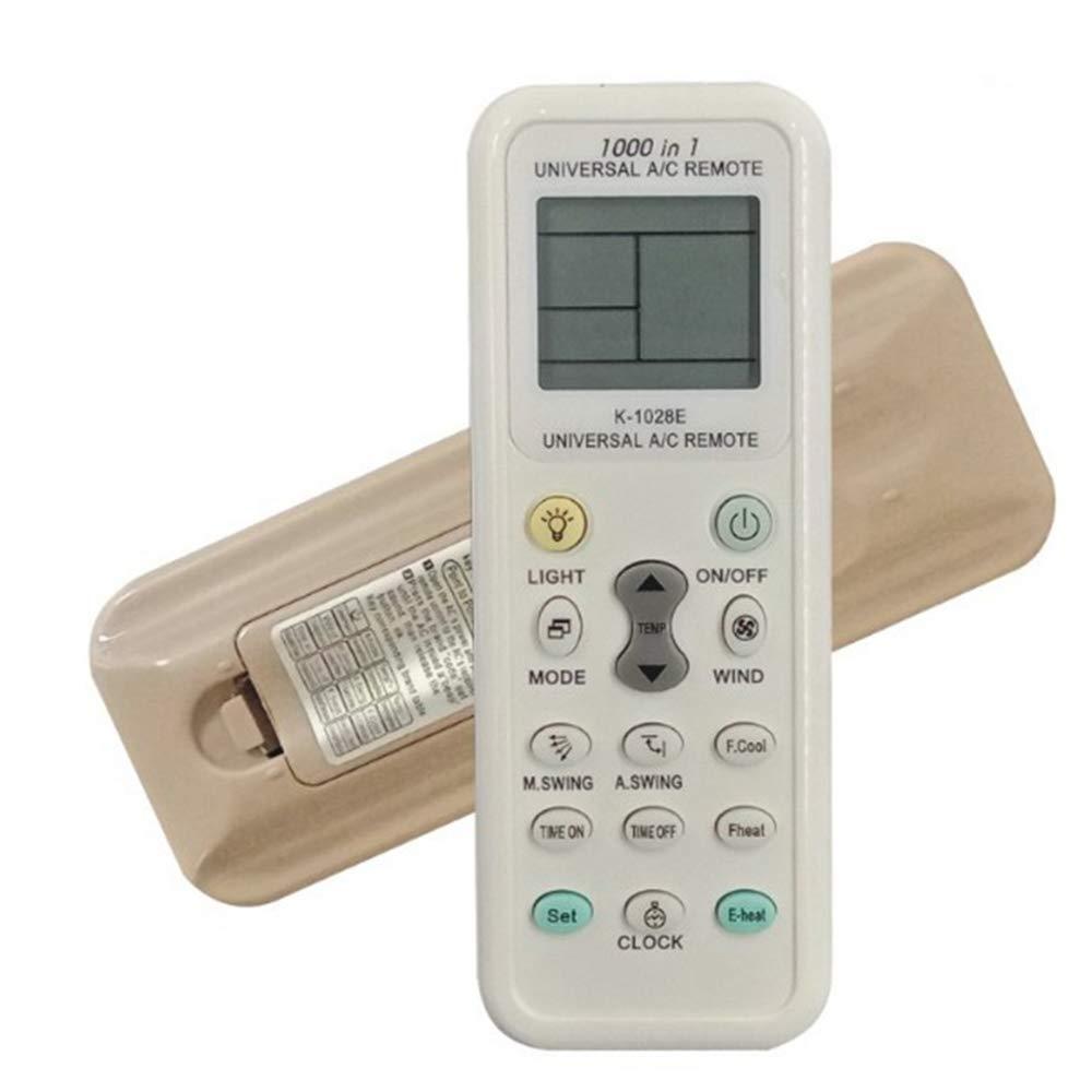 Dewanxin Té lé commande universelle pour climatisation LCD A/C K-1028E 1000 en 1