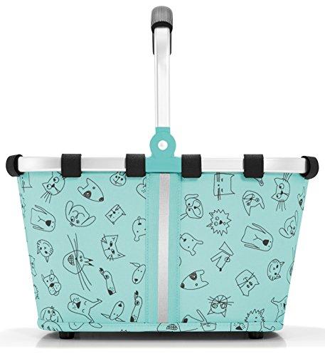 reisenthel Carrybag XS Kids, Extra Small Collapsible Basket, Cats and Dogs (Reisenthel Collapsible)