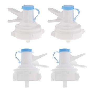 Sharplace 4 Piezas Tapa de Grifo de Jarro de Agua