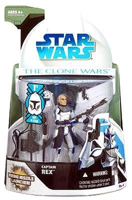 Captain Rex with Firing Missile Launcher - Star Wars: The Clone Wars