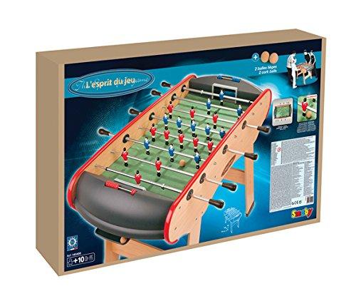 7bede345e7a363 simple smoby jeu de plein air baby foot esprit du jeu amazonfr jeux et  jouets with baby foot charton