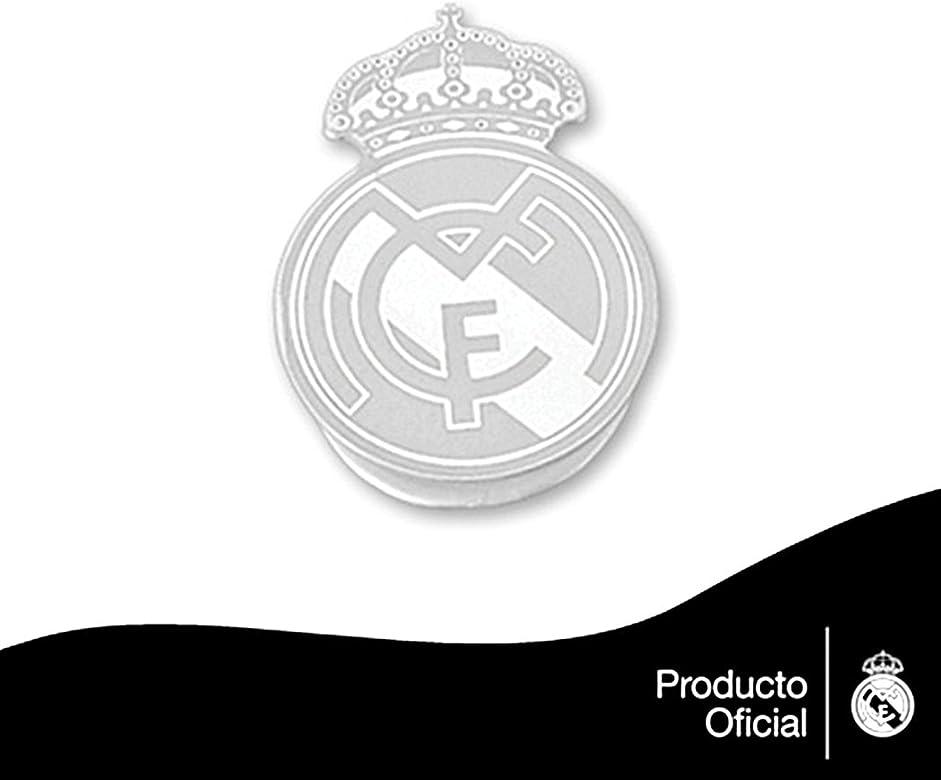 Pin escudo Real Madrid Plata de ley 19mm. [8480] - Modelo: 30-061 ...