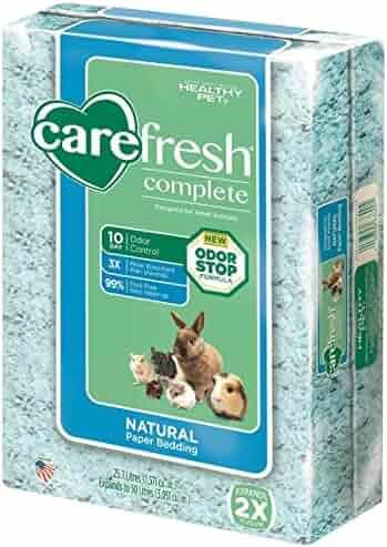 carefresh Complete Natural Paper Bedding, 50 L, Blue