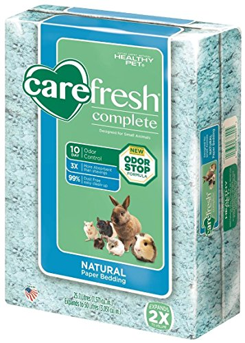 Carefresh Blue Small pet Bedding, 50L (Pack May Vary)