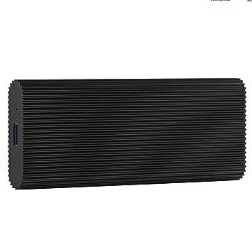 Caoly Blueendless - Carcasa para Disco Duro Externo SSD (USB 3.1 a ...