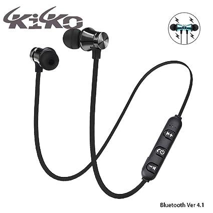 59792303f6f kiko Wireless Bluetooth Earphone Headphone with mic Smart Headphones ( Wireless): Buy kiko Wireless Bluetooth Earphone Headphone with mic Smart  Headphones ...