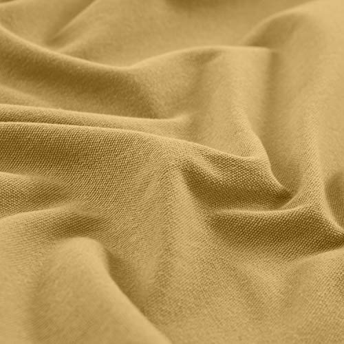 (cololeaf Honey Gold Curtain Fabric Swatch (1 Fabric), Capri Collection Cotton Blend (Purchase Quantity reaches 5, The Price Will be Automatically Reduced to $29.99.))
