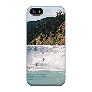 MeSusges Case Cover For Iphone 5/5s - Retailer Packaging Bow River Falls Protective Case