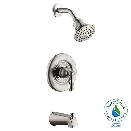 Amazon.com: Glacier Bay Mandouri Single-Handle 1-Spray Tub and ...