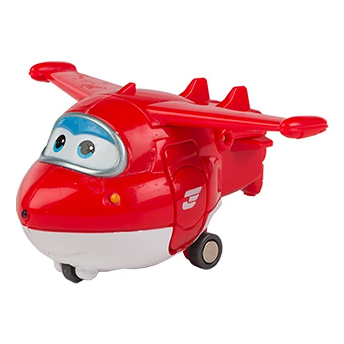 ColorBaby - Jett, personaje transformable Super Wings (75861): Amazon.es: Juguetes y juegos