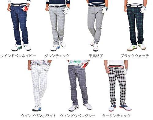 【コモンゴルフ】 COMON GOLF 総柄 ストレッチ ゴルフ パンツ NF-NE18