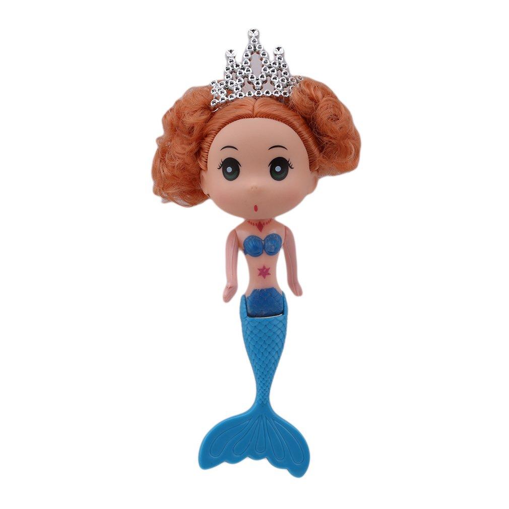 joyfree sirena muñeca juguetes Fantasía pequeña natación sirena ...