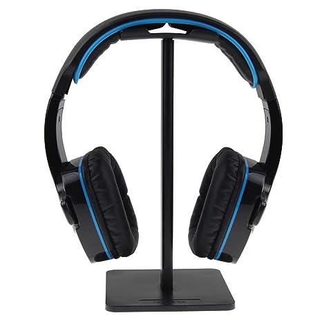 ISWEES Universal Auriculares Soporte de Auriculares Display para Colgar Over Ear Auriculares Auricular, de Aluminio