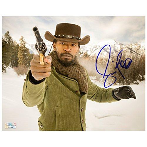 Jamie Foxx Autographed Django Unchained 8×10 Scene Photo