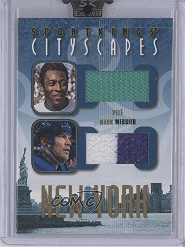 Pele; Mark Messier #4/10 (Trading Card) 2008 Sportkings Series B - Cityscapes - Gold #CSD-08