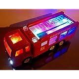 FUN LITTLE TOYS 222Pcs Fire Rescue Vehicles...