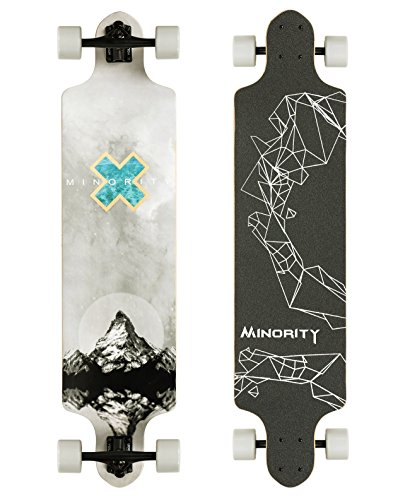 MINORITY Downhill Maple Longboard 40-inch Drop Deck (Longboard Skateboard Deck)