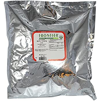 Frontier Stinging Nettle Leaf - Cut & Sifted - Organic - 16 Ounces
