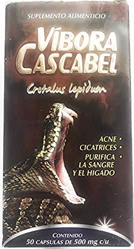 Amazon.com: Vibora Cascabel 50 Cápsulas 500 mg ea. Cascabel ...