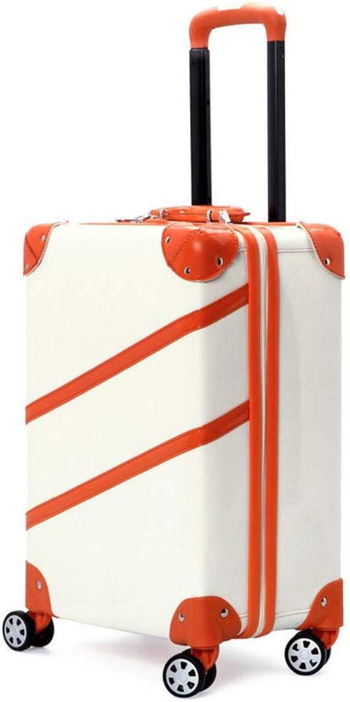 GJF - Bolsa de Transporte rígida, Cierre de código de Seguridad TSA Customs, Maleta Ligera de Polipropileno, Maleta con Ruedas de Gran Capacidad, para Viajes de Negocios o Camping Beige Beige M