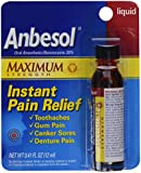 Anbesol Liquid Maximum Strength, 0.41 oz