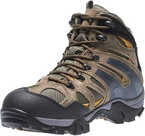 Wolverine Men s Wilderness Waterproof Hiker Boot, Gunmetal, 10.5 X-Wide