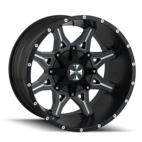 CaliOffRoad OBNOXIOUS Wheel with Milled Finish (2010/6135, -19 mm Offset) -  CALI OFF-ROAD, 9107-2137M