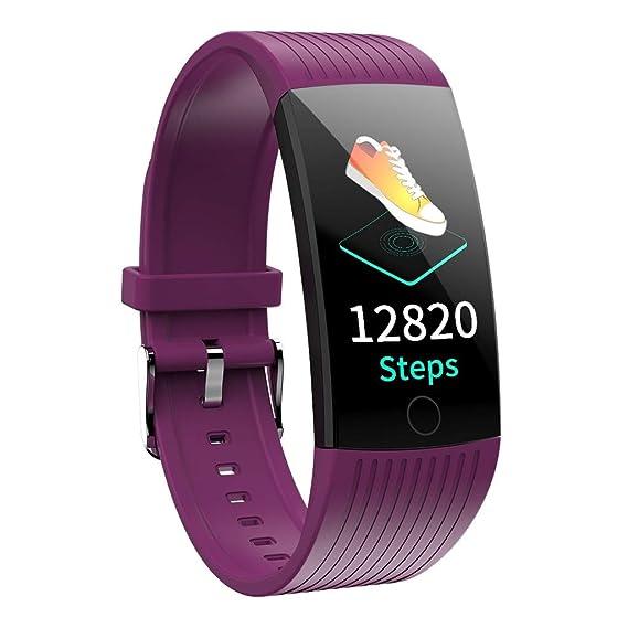 Amazon.com: Smart Watch Blood Pressure Heart Rate Monitor ...
