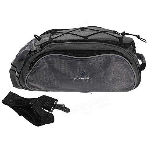 Multi Bike Bicycle Rear Seat Tail Bag Pannier Handbag Double Sides ( Blue ) by Freelance Shop SportingGoods (Image #2)