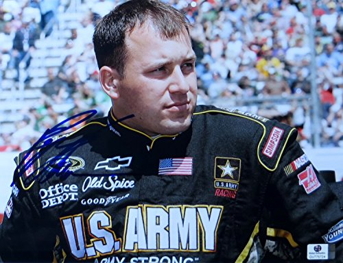 Ryan Newman Signed Autographed 8.5X11 Photo Nascar Driver Army Strong ()