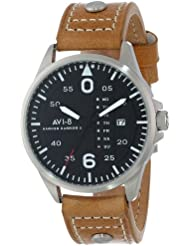 AVI-8 Mens AV-4003-02 Hawker Harrier II Analog Japanese-Quartz Brown Watch