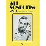 All Sondheim, Vol 1: Piano/Vocal