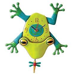 Allen Designs Big Croak frog clock