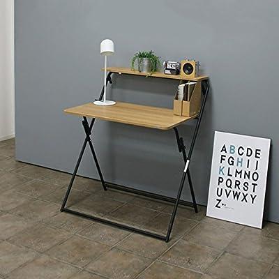 FEIFEI Mesa de escritorio plegable plegable simple de la mesa de ...