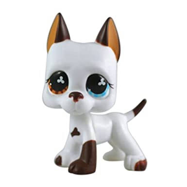 dreamsLE/_LPS Pet Toy Store LPS Pet Collie Dog Child Girl Figure Toy Loose Cute