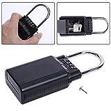 Vipeco 4 Digit Combination Password Safety Key Box Lock Padlock Storage Keys Box