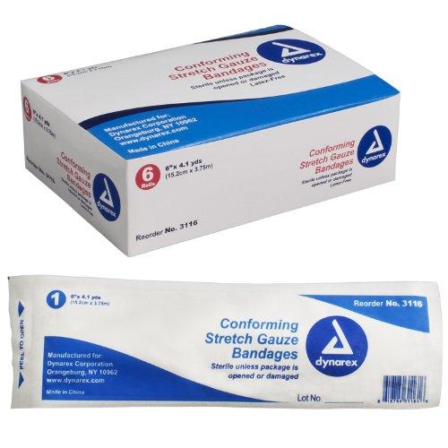 Stretch Sterile Non Bandage Gauze (Stretch Gauze Bandage,6