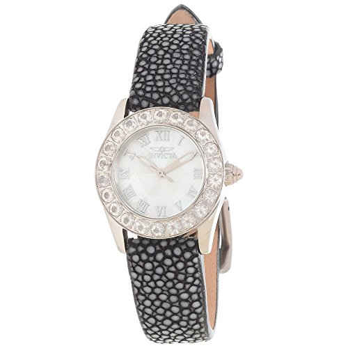 Invicta Angel Multi Dial Black Stingray Ladies Watch 17873