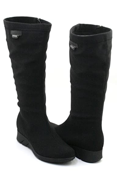 3223602f1d Mephisto Minda Gt Gore-Tex Woman Boot with Removable Footbed Stretch 7400  Black Size:
