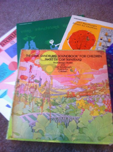 (CARL SANDBURG SOUNDBOOK FOR CHILDREN (4 LP Record Box Set) 1. CARL SANDBURG'S POEMS FOR CHILDREN / 2. ROOTABAGA STORIES / 3. HOW TO TELL CORN FAIRIES WHEN YOU SEE)