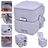 New MTN-G 5 Gallon 20L Portable Toilet Flush Travel Camping Outdoor/Indoor Potty Commode