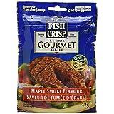 Fish Crisp, Seasoned Coating Mix, Gourmet Grill, Maple Smoke, 80g