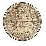 Beistle Around The World Plates | Travel, International & World Theme Party Supplies (8 Count)